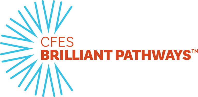 CFES brilliant pathways logo