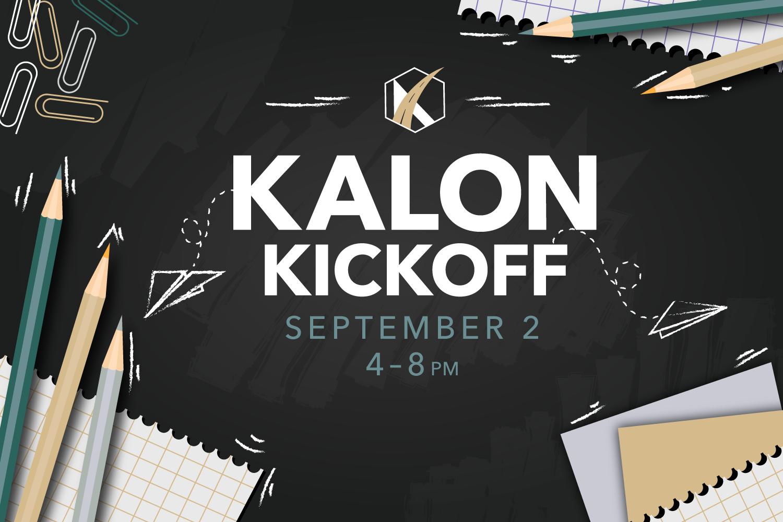 kalon kickoff graphic